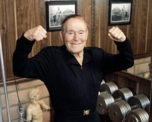 Jack LaLane in his 90's