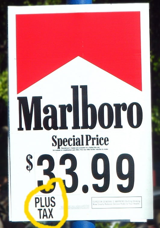 Flavored cigarettes US