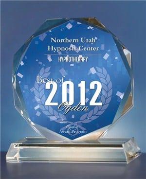 Northern Utah Hypnosis Center Receives 2012 Best of Ogden Award